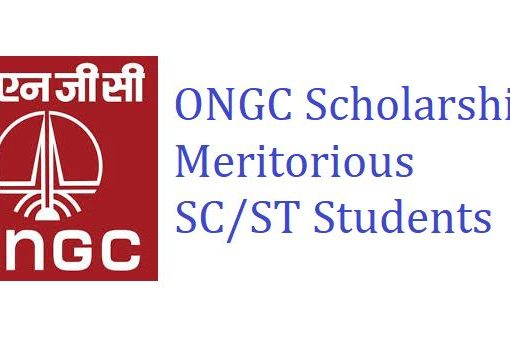 ONGC Scholarship to Meritorious SC/ST Students