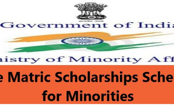 Pre Matric Scholarships Scheme for Minorities