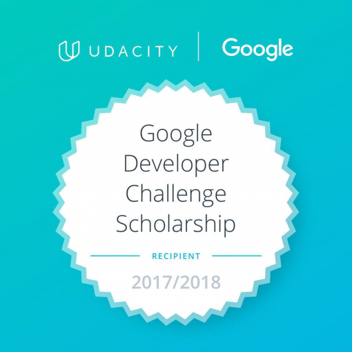 Udacity Google India Scholarship