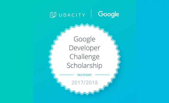 Udacity Google India Scholarship