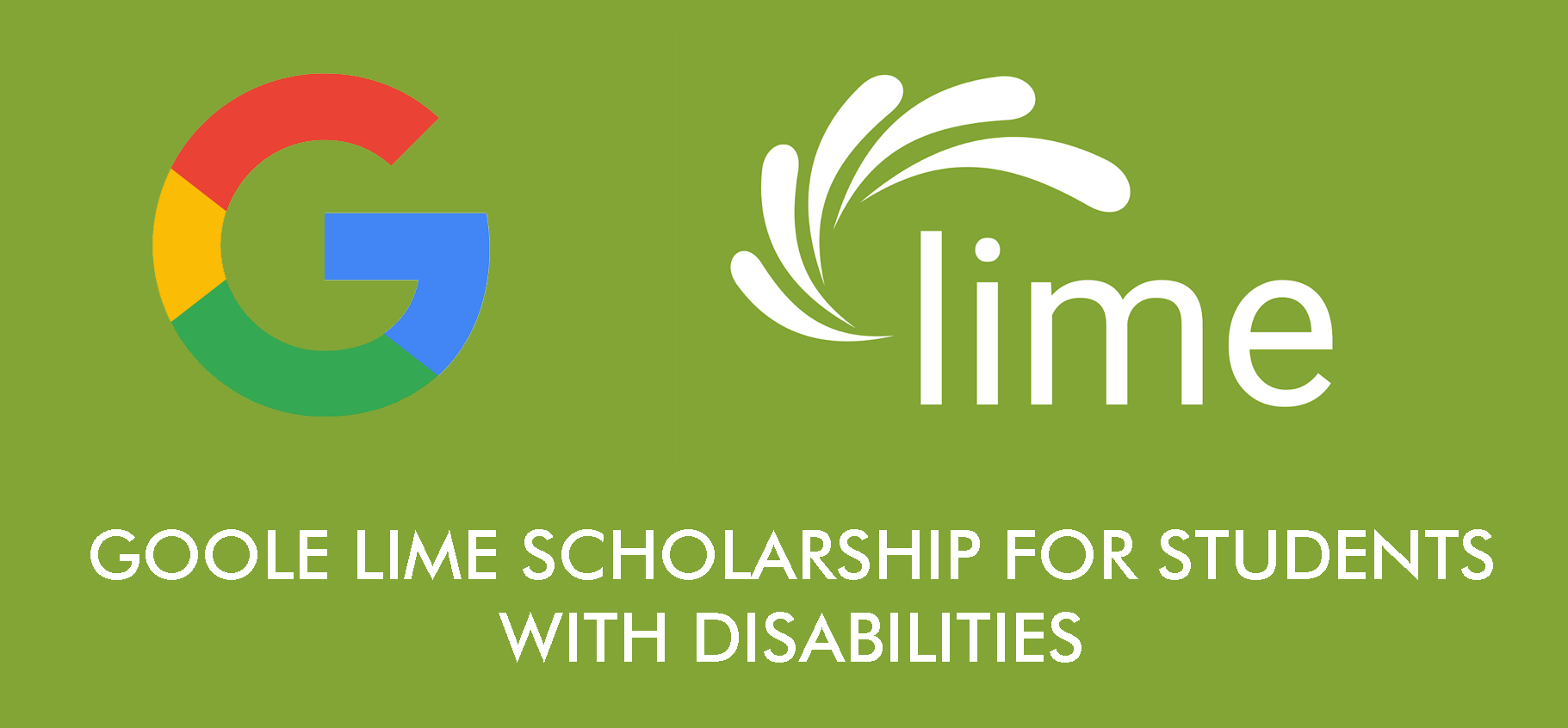 Google Lime Scholarship for Students with Disabilities