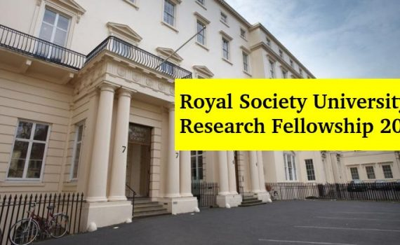 The Royal Society University Research Fellowship 2020