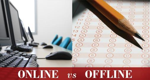 Online /Offline logo