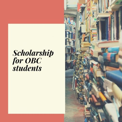 Scholarship for OBC students